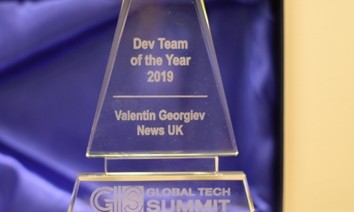 News UK team at Questers awarded Dev Team of the year