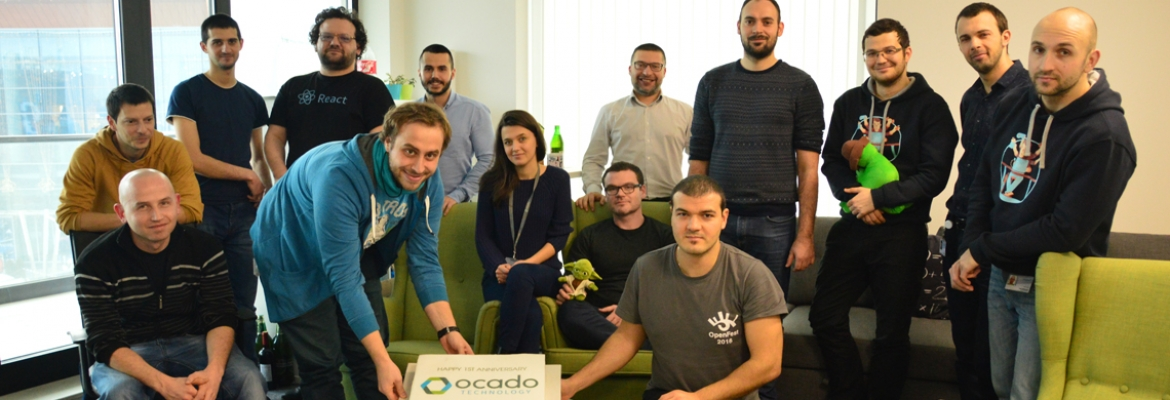 Happy 1st anniversary to Ocado Technology's team @ Questers - Questers