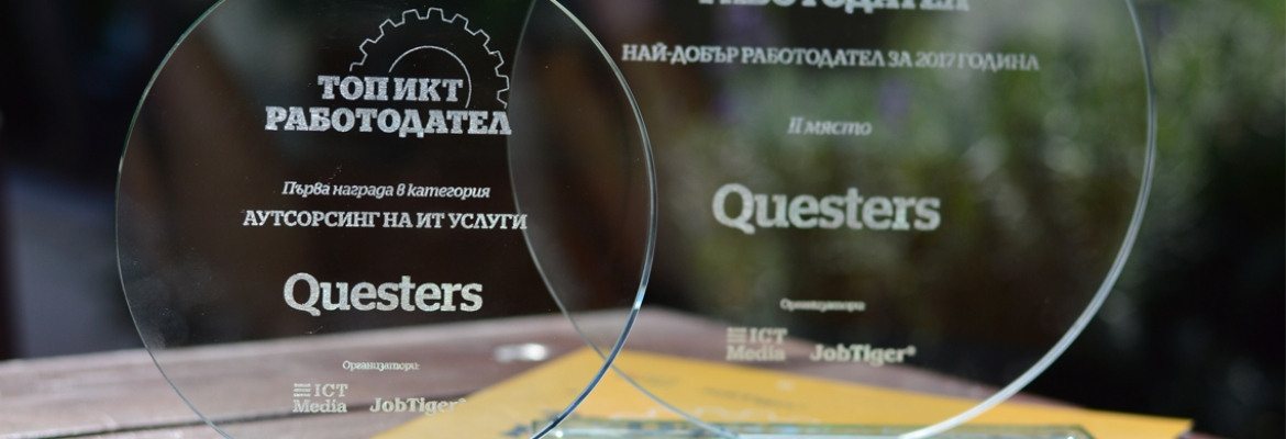 Top ICT Employer 2017 - Questers