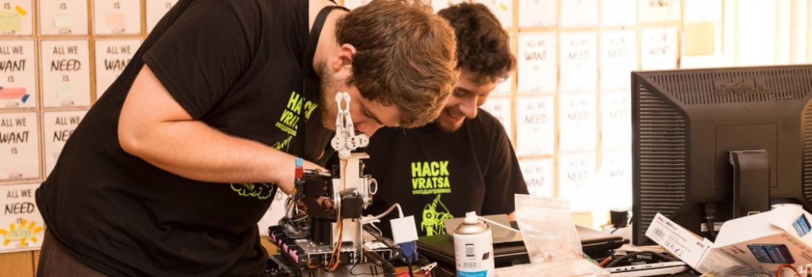 Giving Programme: Supporting HackVratsa 2018 - Questers