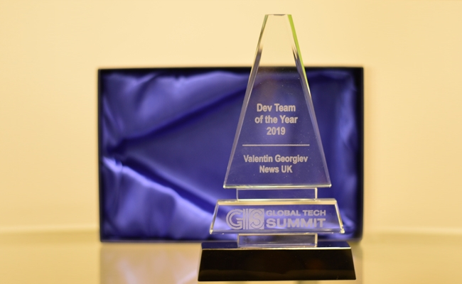 News UK team at Questers awarded Dev Team of the year - Questers