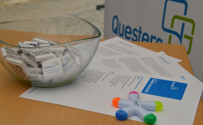 "Questers & Javelin Group at ""Career Days"" in FMI on 3rd and 4th June 2015 - Questers"